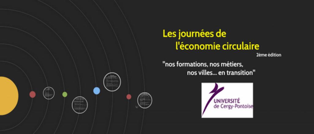 2e journées de l'économie circulaire à l'Université de Cergy-Pontoise