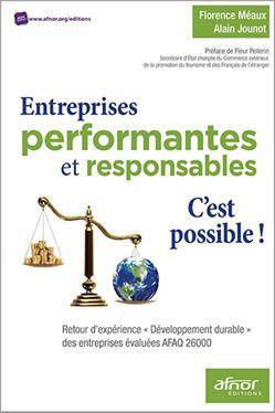 """""""Entreprises performantes et responsables..."""" Alain Jounot"""
