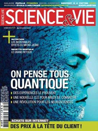 """""""On pense tous quantique"""" Science & Vie Oct 2015"""