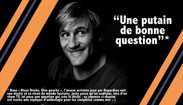 """""""Une putain de bonne question"""" par Frédéric BASCUÑANA"""