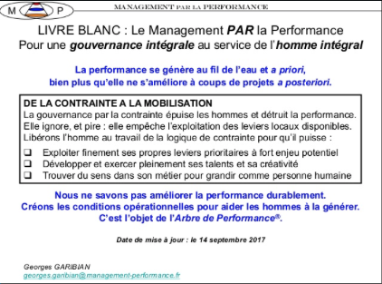 Peut-on mesurer la performance ? Par Georges Garibian