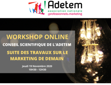 « le marketing de demain » par le Conseil Scientifique de l'ADETEM