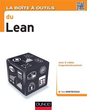 """""""la boîte à outils du lean"""" par Radu Demestrescoux"""
