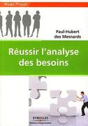 CADEAU : les livres de Paul-Hubert des Mesnards sur l'analyse des besoins et de la Valeur !