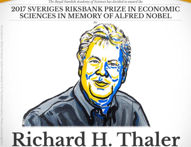 Nobel d'Economie 2017 : la valeur de l'argent est relative !