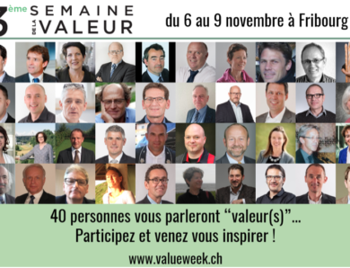 Value Week à Fribourg : les présentations sont en ligne !