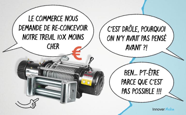 """""""Le treuil qui coûte 10x moins cher"""""""
