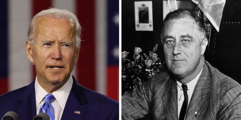 F.D. Roosevelt : ne laissons pas l'histoire se répéter !